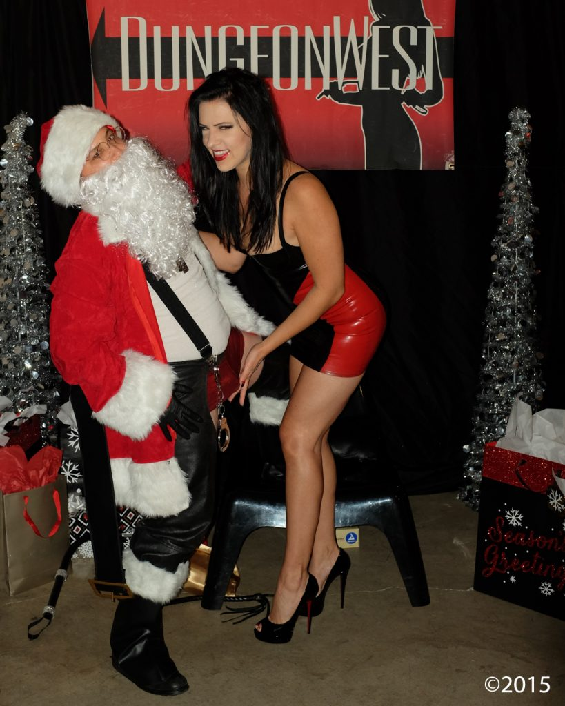 Don't forget to tell Kinky Santa what you want for XXXmas!