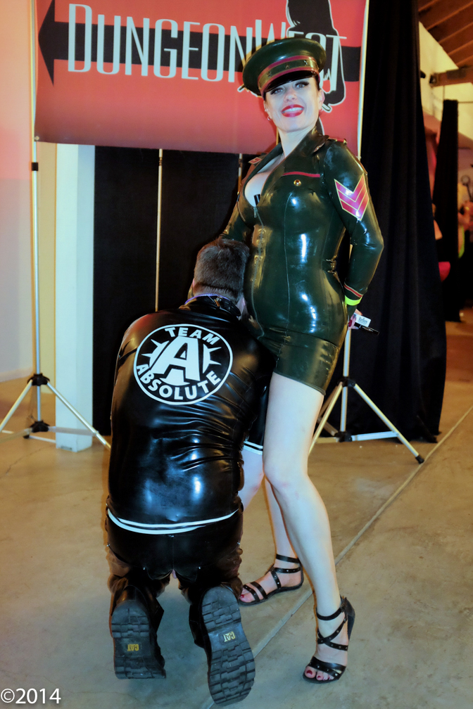 Head Hostess Mistress Absolute - don't you want to be on Her team?