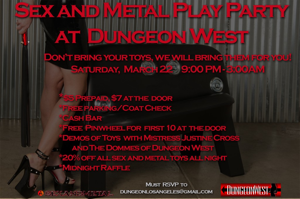 Sex and Metal Play Party